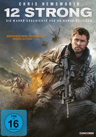 12 Strong Gewinnspiel DVD und Blu-ray