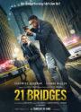 21 Bridges deutsches Kinoplakat