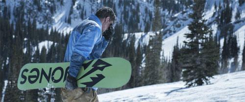 6 Below Verschollen im Schnee Josh Hartnett mit Snowboard