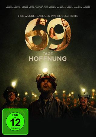 69 Tage Hoffnung mit Antonio Banderas DVD Cover