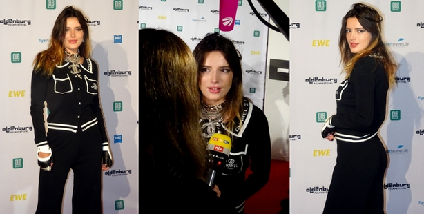 Bella Thorne, Filmfestival Oldenburg