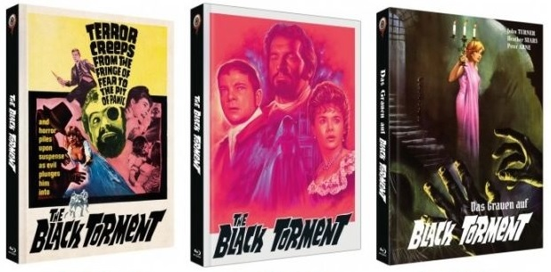 Das Grauen auf Black Torment Cover A, B, C