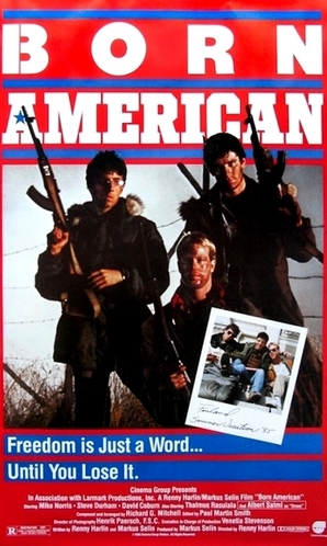 Ein amerikanisches Poster-Motiv.