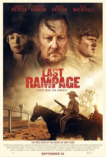 """Das US-Postermotiv von """"Last Rampage""""."""