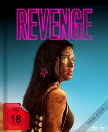 "Das Vorab-Covermotiv des dt. ""Revenge"" Mediabooks"