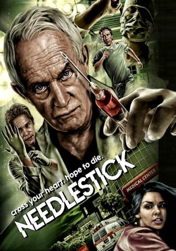 """Das amerikanische Covermotiv von """"Needlestick""""."""