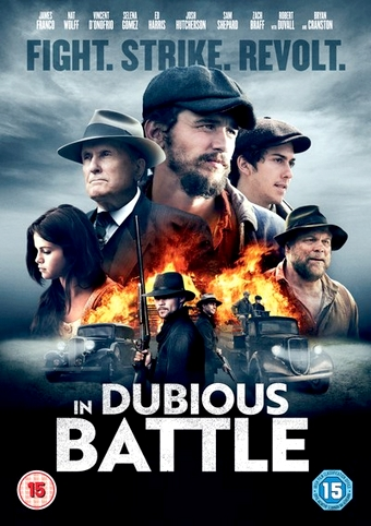 In Dubious Battle: Das britische Covermotiv.