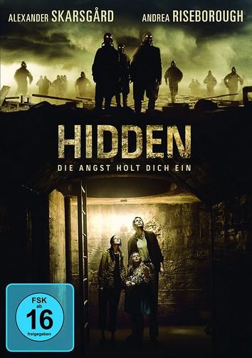 """Das deutsche Covermotiv von """"Hidden""""."""