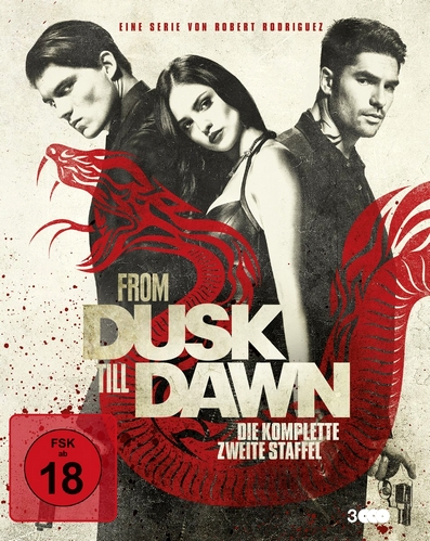 "Das deutsche Covermotiv von ""From Dusk till Dawn: Season 2""."