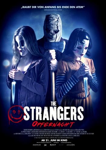 """Das deutsche Postermotiv von """"the Strangers: Opfernacht"""""""