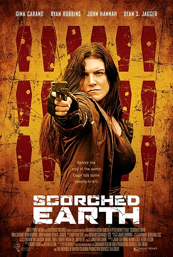 "Ein US-Postermotiv von ""Scorched Earth"" (2018)"