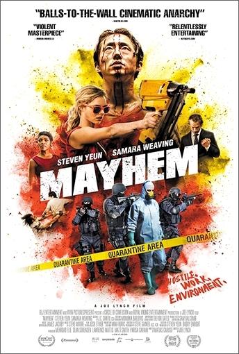 Ein amerikanisches Postermotiv von Mayhem.
