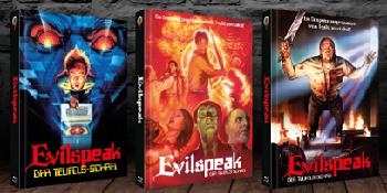 Evilspeak - Cover A, B und C