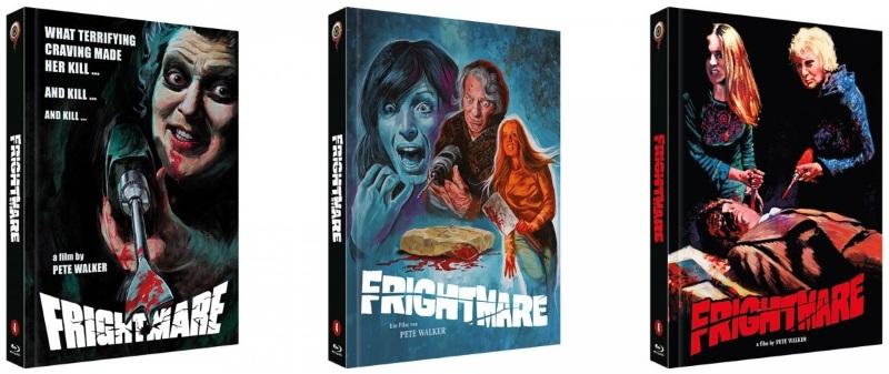 Frightmare - Cover A, B und C
