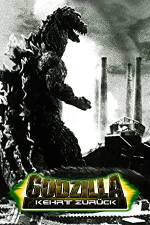 Godzilla kehrt zurück Poster