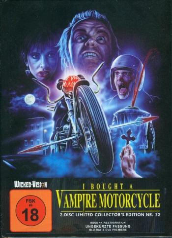 I Bought A Vampire Motorcycle Cover