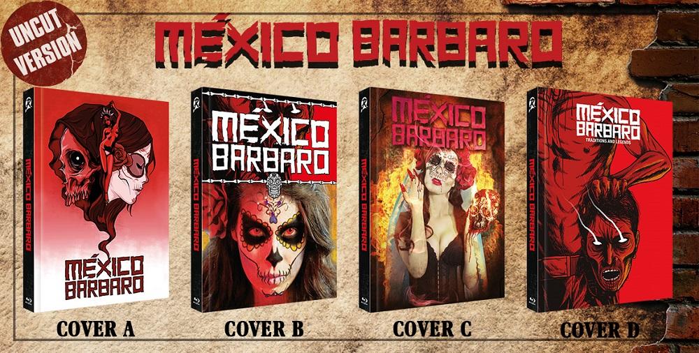 México Bárbaro - Cover A, B und C