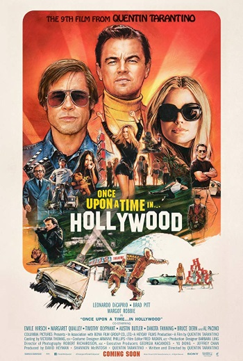 Once Upon A Time In... Hollywood Plakat