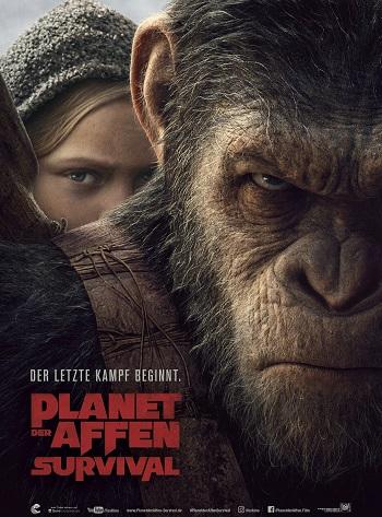 Planet der Affen: Survival Filmposter