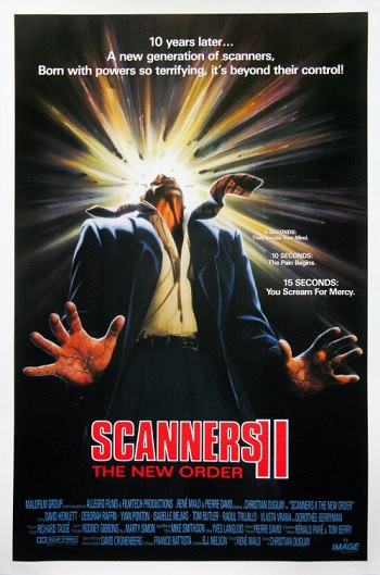 Scanners II Poster