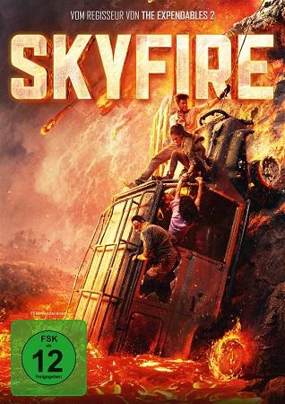 Skyfire deutsches DVD Cover