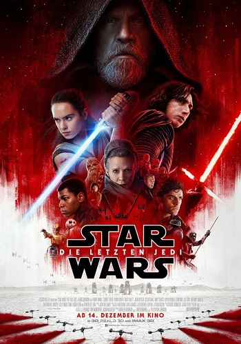 Star Wars: Die letzten Jedi Filmplakat