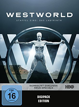 Westworld Staffel 1: Das Labyrinth DVD Cover