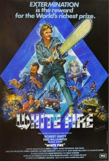 White Fire Cover
