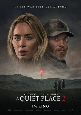 A Quiet Place 2 Deutsches Kinoplakat
