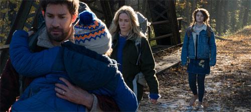 A Quiet Place mit dem Ehepaar John Krasinski und Emily Blunt