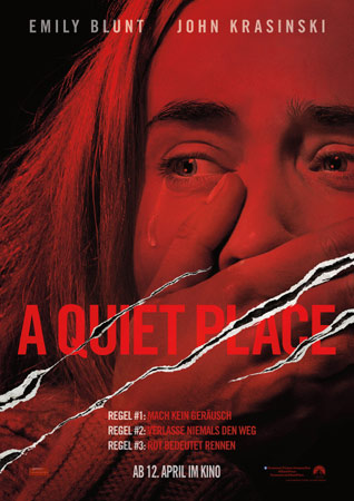A Quiet Place deutsches Filmposter