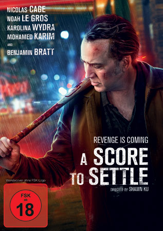 A Score to Settle mit Nicolas Cage Cover