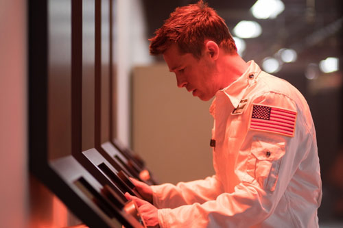 Brad Pitt im Science Fiction Film