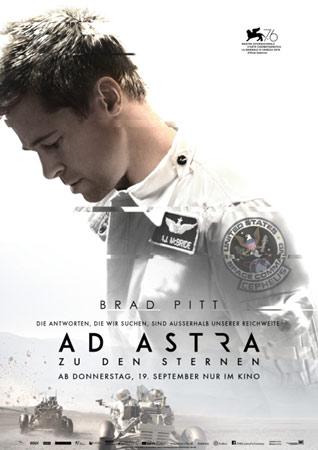 Ad Astra deutsches Kinoplakat