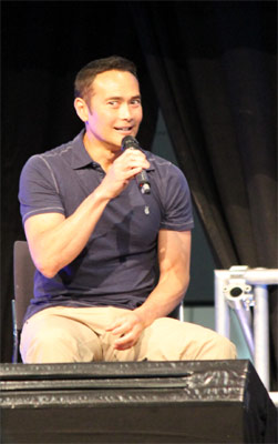 Mark Dacascos bei der Comic Con 2016 in Stuttgart