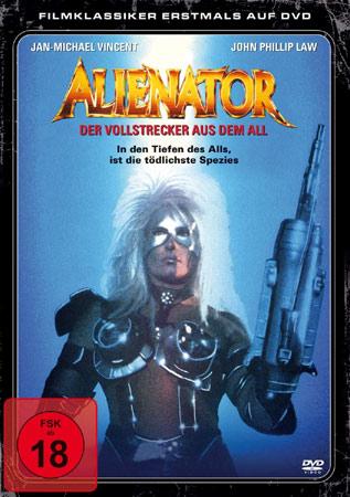 Alienator mit Jan-Michael Vincent DVD Cover