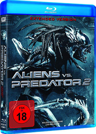 Aliens vs Predator 2 Cover