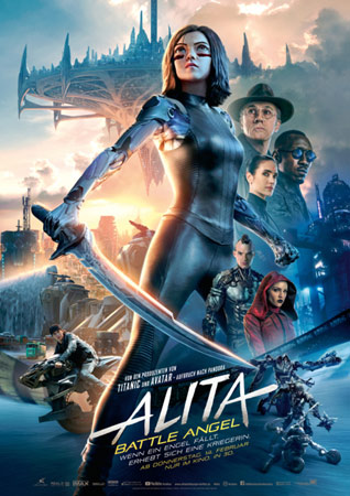 Alita: Battle Angel Filmposter