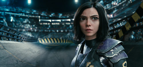 Alita: Battle Angel mit Rosa Salazar