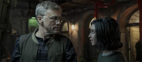 Alita: Battle Angel mit Christoph Waltz und Rosa Salazar