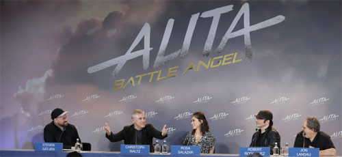 Alita: Battle Angel Pressekonferenz