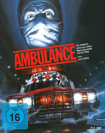 Ambulance Mediabook Cover