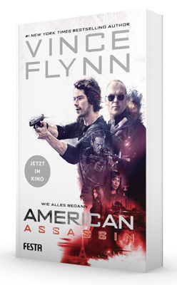 American Assassin Buch zum Film