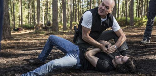 American Assassin Dylan O'Brien und Michael Keaton