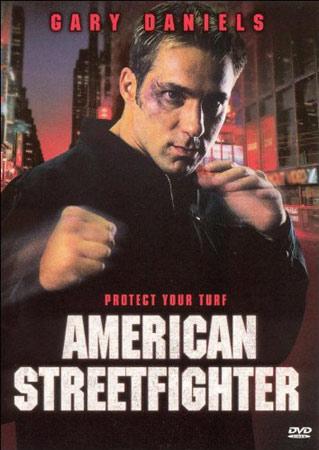 American Streetwarrior mit Gary Daniels DVD Cover