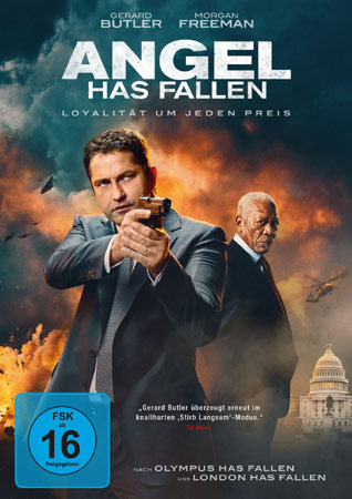 Angel Has Fallen DVD Cover