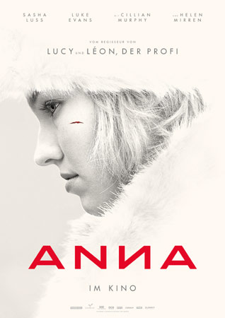 Anna deutsches Plakat Luc Besson