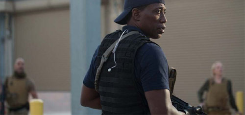 Armed Response Wesley Snipes als Isaac