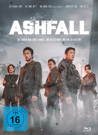 Ashfall deutsches Mediabook-Cover
