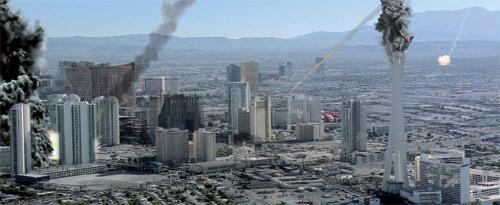 Las Vegas raucht